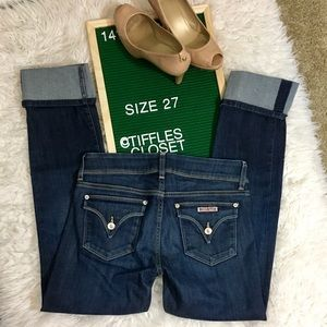 Hudson Jeans Jeans - Hudson Jeans | Straight cuffed Crops size 27